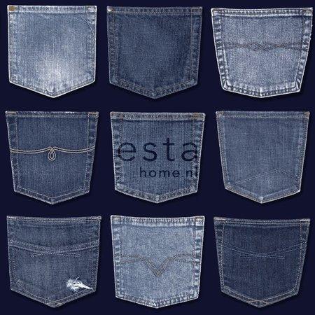 Esta Home Denim & Co. jeans pocket blue 137741