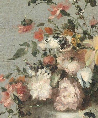 Fotobehang Vintage Flowers Rijksmuseum 30583