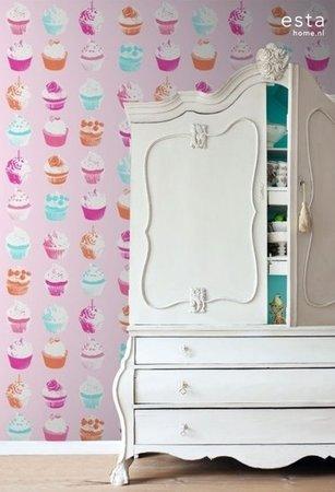 Everybody Bonjour WallpaperXXL Cupcakes 158715