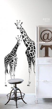 Everybody Bonjour PhotowallXL Giraffen 158701