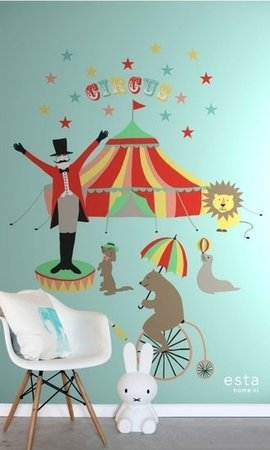 Everybody Bonjour PhotowallXL Circus 158703