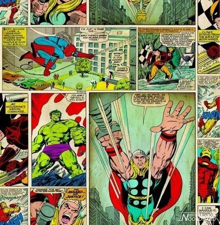 Noordwand Kids @ home 70-264 Spiderman