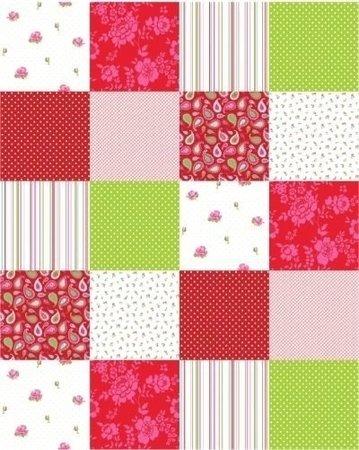 Esta Belle Rose Patchwork 155702