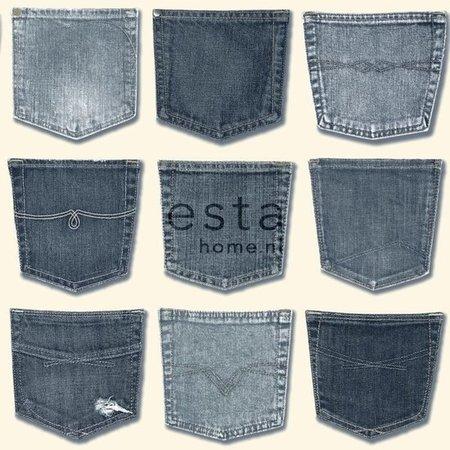 Esta Home Denim & Co. jeans pocket light blue 137739