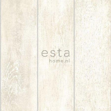 Esta Home Denim & Co. wooden planks white 137746