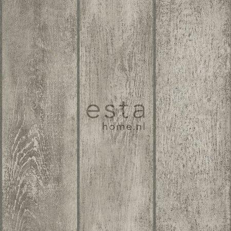 Esta Home Denim & Co. wooden planks grey 137748