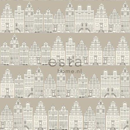 Esta Home Denim & Co. Amsterdam houses beige 137713