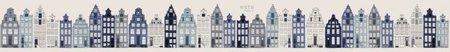 Esta Home Denim & Co. PhotowallXL Amsterdam houses blue 157713
