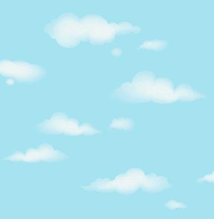 Dutch Carousel behang DL21137 Clouds