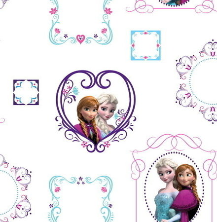 Frozen behang Frozen frames