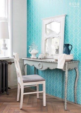 Esta Love 136823 Baroque turquoise
