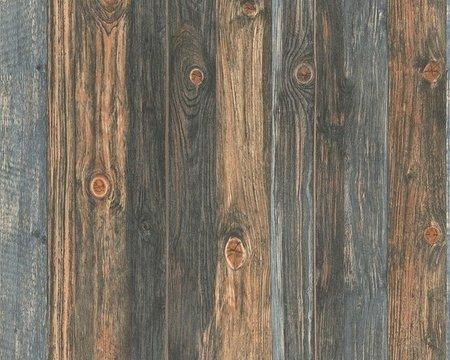 AS Creation Wood‹n Stone 9086-12 Houtstructuur behang