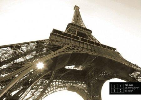AG Design Fotobehang Eiffeltoren FTS0172