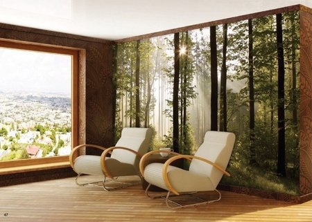 AG Design Fotobehang Bos FTS0181