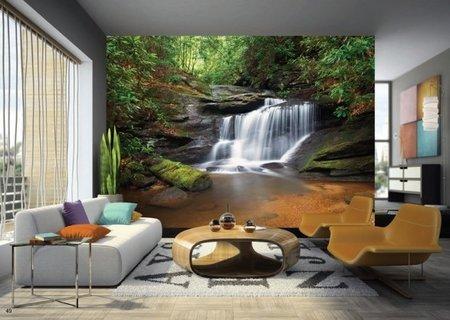 AG Design Fotobehang Waterval FTS0478