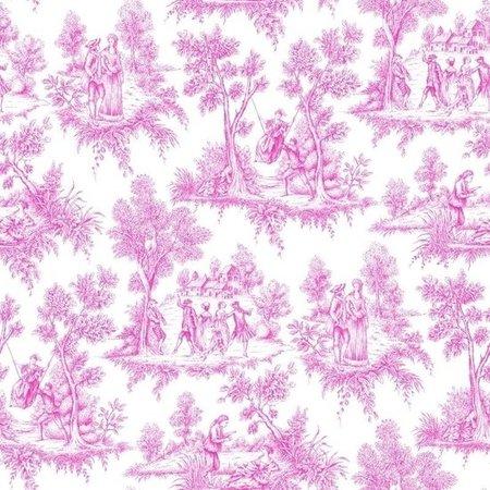 Esta Love 136819 Toile Pink