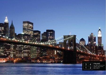 AG Design Fotobehang Brooklyn Bridge