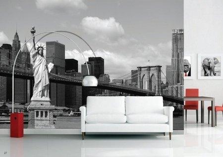 AG Design Fotobehang Vrijheidsbeeld