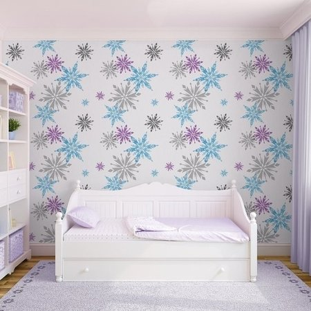 Disney Frozen behang Snowflake