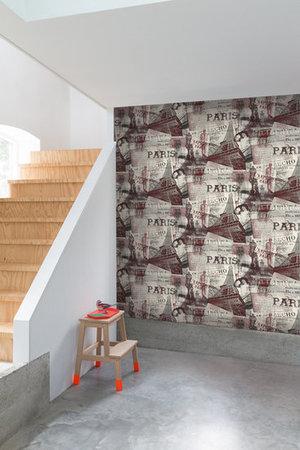 Dutch Exposed Warehouse behang paris EW2101