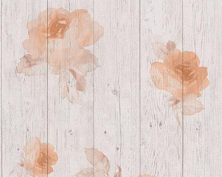 AS Creation New England 2 behang 96112-3 Rozen nu te koop op www.uitverkoop.nl