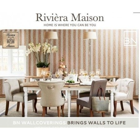 Riviera Maison Rustic Rattan Strip 18321 (Met Gratis Perfax Lijm!)