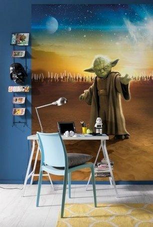 Fotobehang Starwars Master Yoda