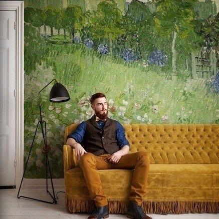 fotobehang BN Wallcoverings Van Gogh 30547 Tuin van Daubigny