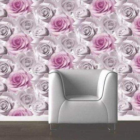 Muriva behang 119505 Roze Rozen