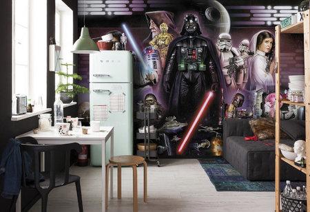 Fotobehang Starwars Darth Vader Collage