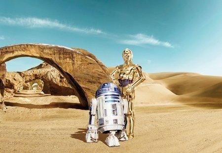 Fotobehang Starwars Lost Droids