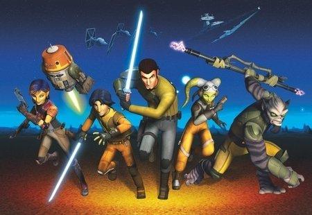 Fotobehang Starwars Rebels Run