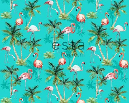 flamingos wallpaper XXL 158609