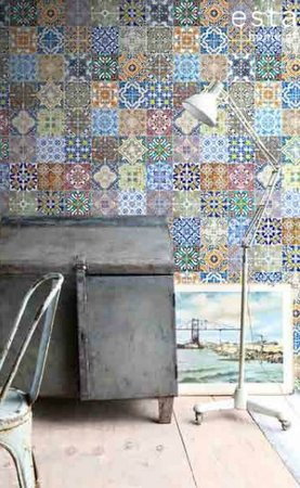 Spanish tiles wallpaper XXL 158603