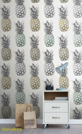 pineapples wallpaper XXL 158606