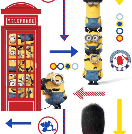 Noordwand Kids @ home 103145 Minions