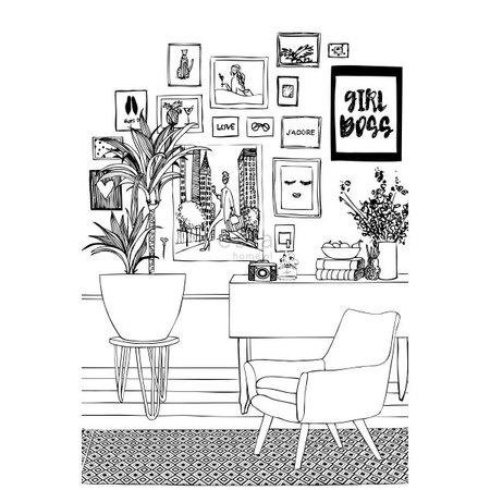 Esta #FAB Livingroom pretty pictures vlies photowa 158813