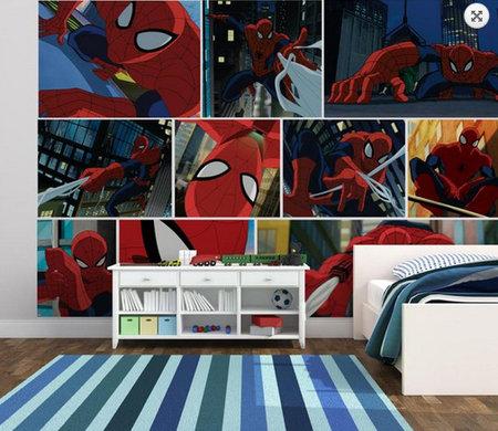 Kids @ Home 5 spiderman mural 70-585