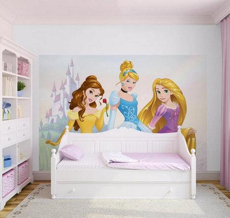 Kids @ Home 5 princess mural 70-588