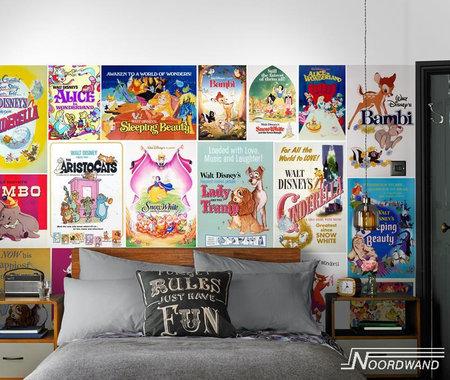 Kids @ Home 5 vintage girls mural 70-590