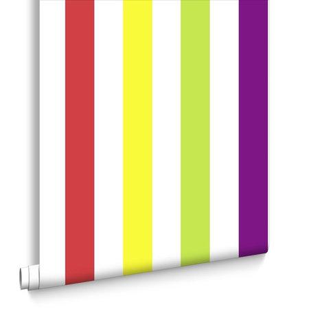 Kids @ Home 5 bright stripes 100098