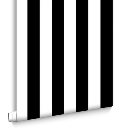 Kids @ Home 5 monochrome stripe 100099