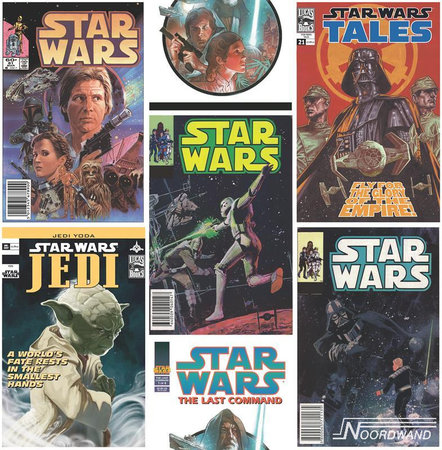 Kids @ Home 5 star wars poster fronts 70-454