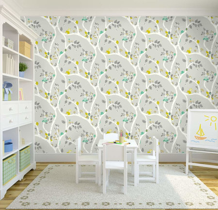 Dutch Wallcoverings Make Believe Woodland 12491