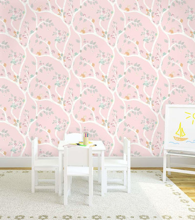 Dutch Wallcoverings Make Believe Woodland 12492