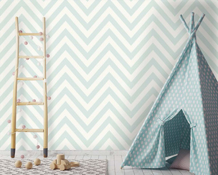 Dutch Wallcoverings Make Believe Chevron 12570