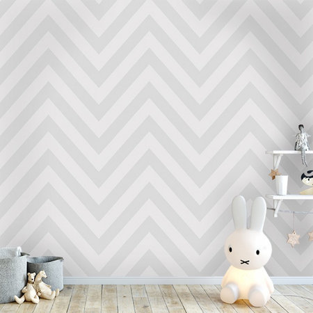 Dutch Wallcoverings Make Believe Chevron 12571