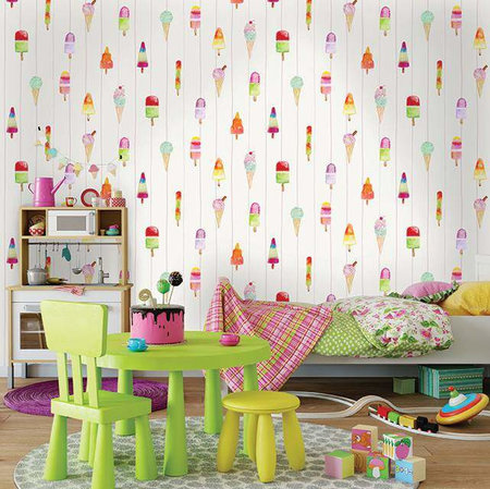 Dutch Wallcoverings Make Believe Lollipops 12450