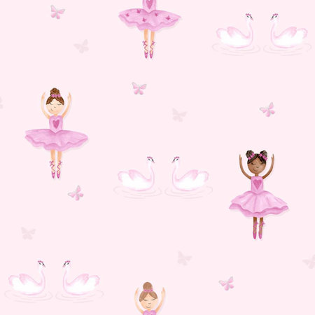 Dutch Wallcoverings Make Believe Ballerina 12460