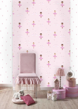 Dutch Wallcoverings Make Believe Love Hearts 12581